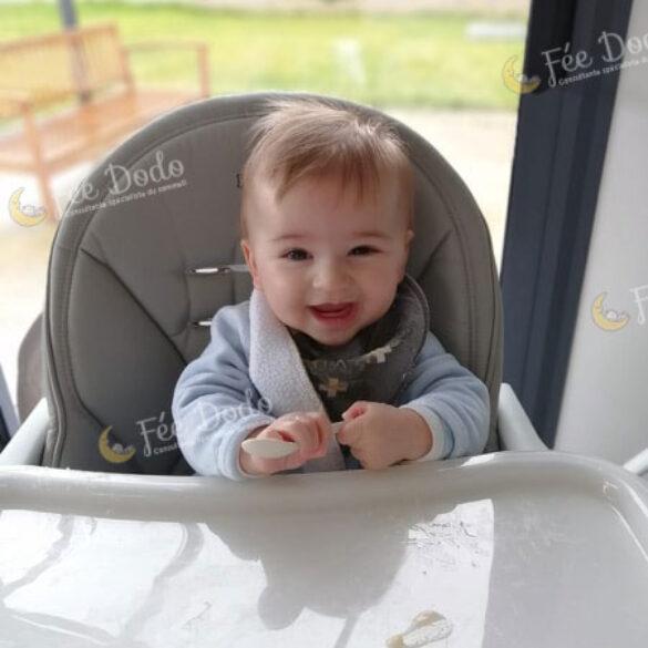 Accompagnement sommeil bébé RGO (4 mois)