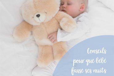 Mon bébé ne dort pas la nuit, comment faire ?