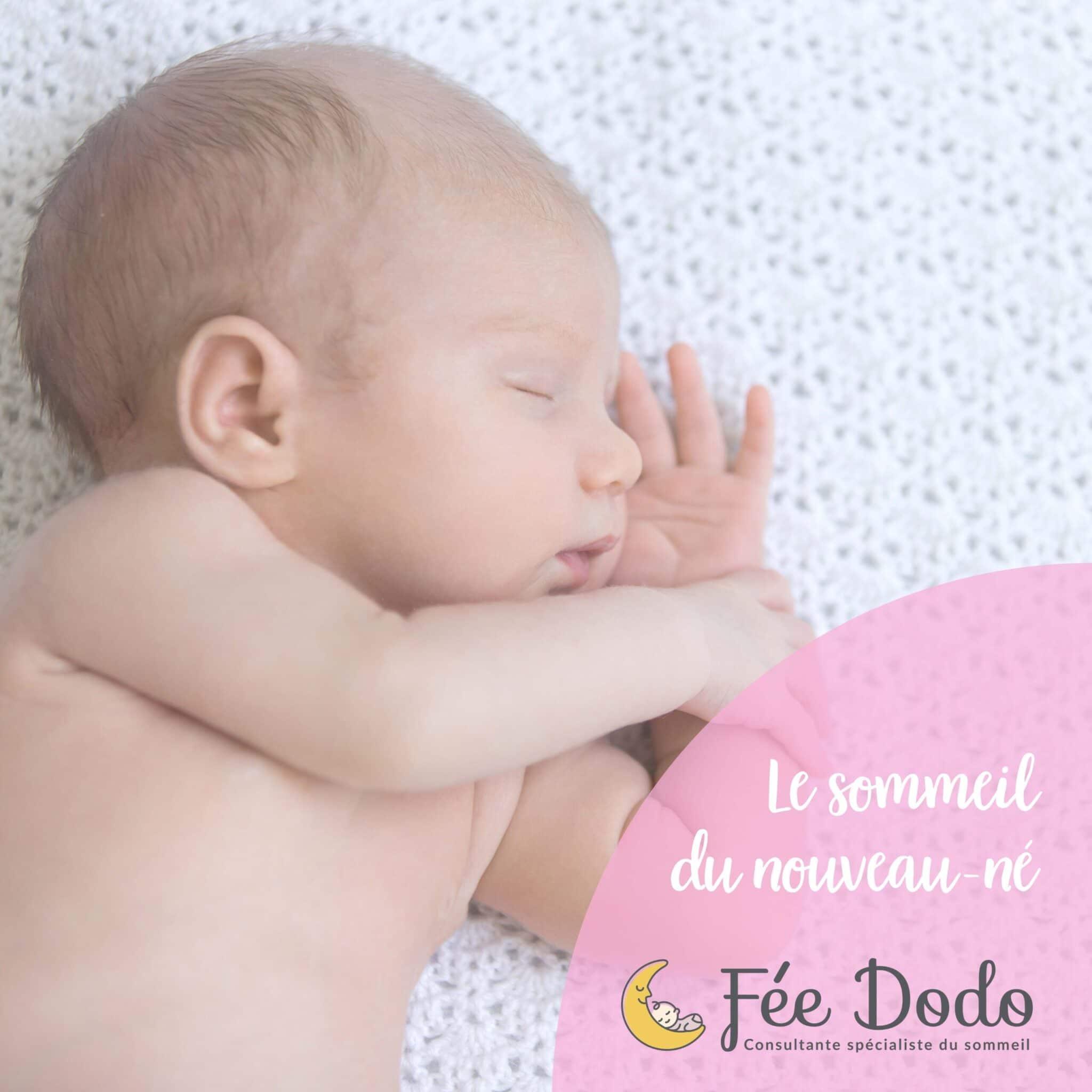 Tout savoir sur le sommeil du nouveau-né