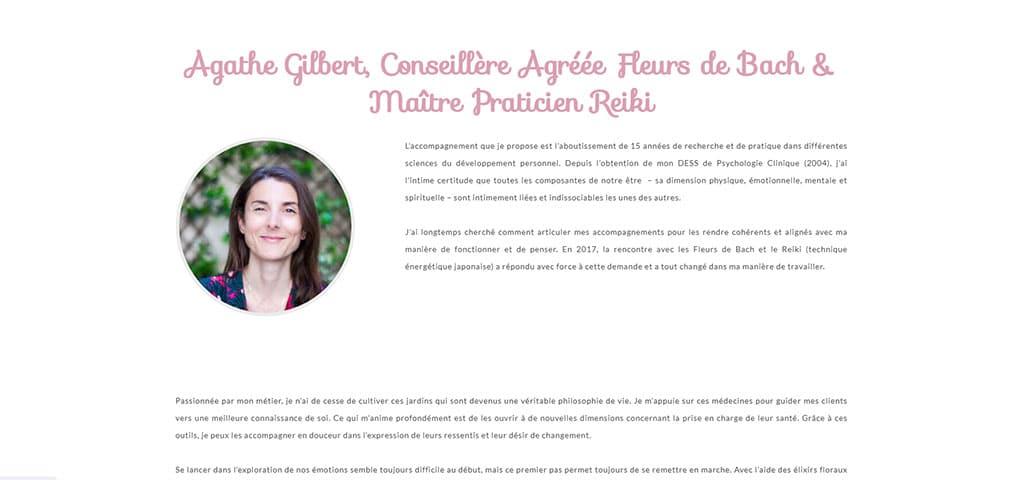 Agathe Gilbert, spécialiste en Fleur de Bach